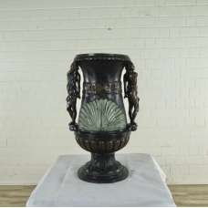 17185 Blumenkübel Vase Bronze Ø 0,40 m
