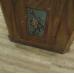 17191E Schrank Bauernmalerei Barock 1820