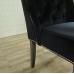 17193E Stuhl Esszimmerstuhl Schwarz