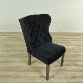 17193E Dining Room Chair Black