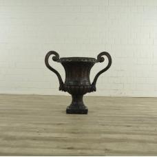 17205 Flowerpot Vase Bronze 0.75 m