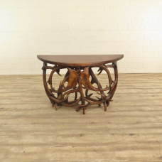 17221E Wall Table - Antler / solid wood 1.34 m