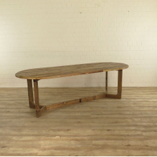 17242E Dining Table Elm 2.50 x 1.00 m