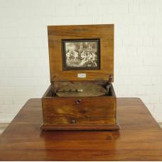 17264 Spieluhr Polyphon Gründerzeit 1880