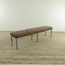 17275 Bench Industrial Design  Leather 2.00 m