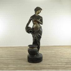 17278 Wasserspeier Frau Bronze 1,95 m