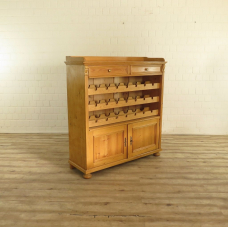 17346E Wine Cabinet Softwood 1.36 m
