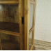 17353 Vitrine Bücherschrank Kiefer 1,18 m
