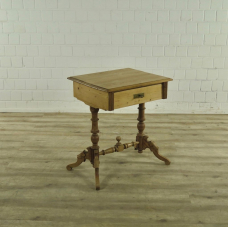 17356E Sewing Table Gründerzeit 1880
