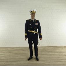 17382 Schaufensterpuppe 1920 mit Uniform der Volksmarine - Konteradmiral