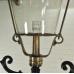 17383E Laterne Gartenlampe Schwarz 3,10 m
