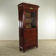 17432E Vitrine Biedermeier 1860