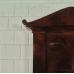 17433E Wandspiegel Spiegel Biedermeier 1840
