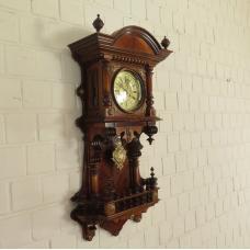 17440 Wanduhr Uhr Gründerzeitstil
