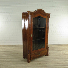 17456E Vitrine Biedermeier 1880