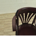 17466 Barstool Backrest Mahogany