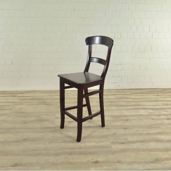 17467 barhocker mit r ckenlehne mahagoni. Black Bedroom Furniture Sets. Home Design Ideas