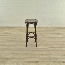 17468 Barstool Hocker Walnut