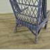 17473 VAN THIEL & CO. Sessel Blau-Cremeweiß