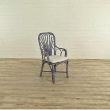 17476 VAN THIEL & CO. Stuhl Blau-Weiß