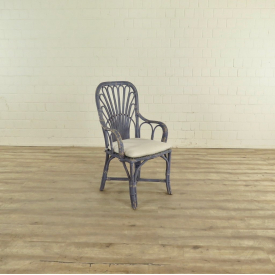 17476 VAN THIEL & CO. Chair - Blue/White