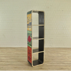 17479 Bookcase Teak 0.46 m