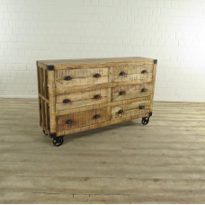 17503 Sideboard Chest of Drawers Mango 1,50 m