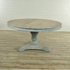 17508 Dining Table Old pine Ø 1.50 m
