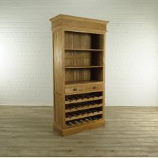 17533E Wine Cabinet Teak 1,02 m
