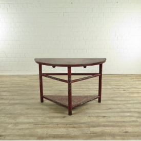 17537E VAN THIEL & CO. Side Table Red 1.27 m