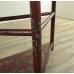 17537E VAN THIEL & CO. Wandtisch Rot 1,27 m