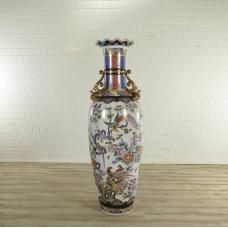 Vase Weiß Ø 0,55 m
