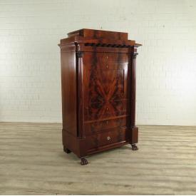 Blender Sekretär Biedermeier 1820 Mahagoni