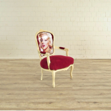 Barockstuhl Stuhl Marilyn Monroe