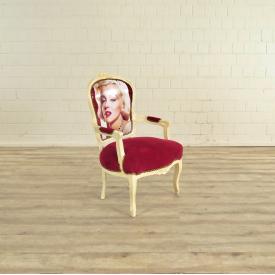 Baroque chair Marilyn Monroe - 17591