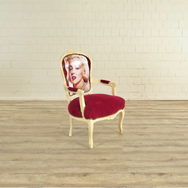 Baroque chair Marilyn Monroe - 17591