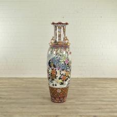 Vase Porzellan Pfau Ø 0,53 m