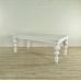 Esstisch Tisch Landhausstil Eiche Weiß 2,00 m x 1,00 m