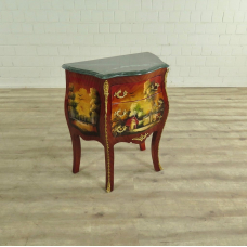 Chest of Drawers Baroque Hand Painted 0,63m - 17619E