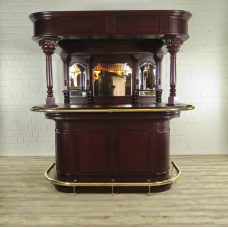 Home Bar Mahogany 2,00 m - 17647E