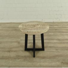 Beistelltisch Tisch Mangoholz Ø 0,45 m