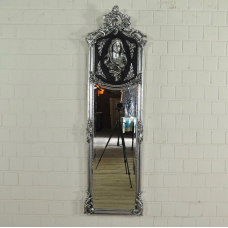 Wall Mirror Baroque 0.51 m x 1.80 m - 17685