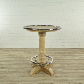 Bar Table Teak Ø 0.95 m - 17694E