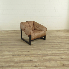 Leather Armchair Camel 0.90 m - 17701