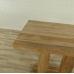 Stehtisch Cafetisch Teakholz 1,10 m x 0,70 m