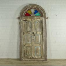 Tür Eingangstür Haustür 1900 Teakholz