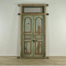 Eingangstür Haustür 1920 Teakholz