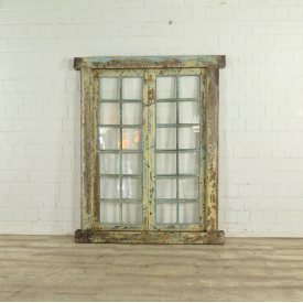 Window Frame Biedermeier 1840 Teak - 17725E