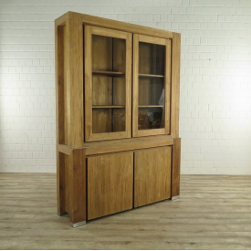 Showcase Bookcase Teak 1.60 m - 17729E