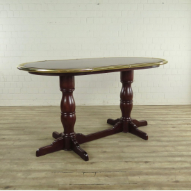 Bar Table Mahogany 2,17 m x 1,14 m - 17732